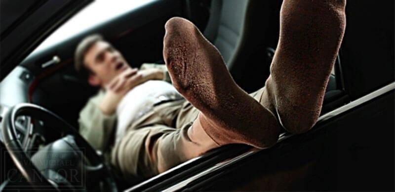 DUI when sleeping in car